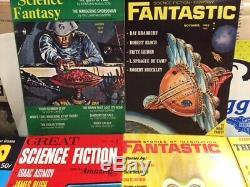1000 pcs Fantastic Stories Imagination sci-fi magazines pulp mega dealer lot NOS