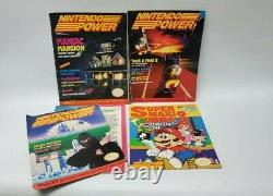 13 Nintendo Power Magazine Lot withPosters Volume 1 July/August 1988 Mario Bros 2