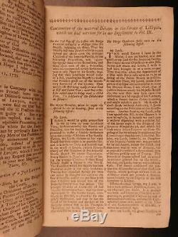 1740 1st ed South Carolina Slavery Indians Gentlemans Magazine Samuel Johnson