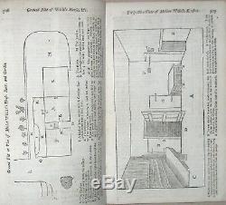 1753 Gentleman's Magazine French & Indian War Liberty Bell Raised Philadelphia