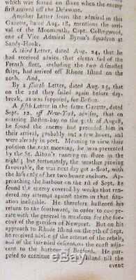 1778 & 1779 Gentleman's Magazine Revolutionary War John Adams George Washington