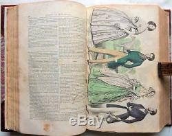 1841 Edgar Allan POE Mask of the Red Death Grahams Ladys Gentlemans Magazine