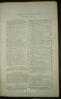 1851, Sartain's Union Magazine Of Literature And Art, Vol VIII & Ix, Illustrated