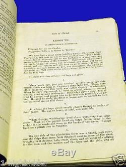 1902 Childrens Friend Vol. 1 COMPLETE Mormon LDS Leather Primary Magazine RARE
