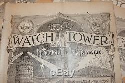 1927 The Watch Tower 24 magazines January 1 tru December 15 Original Year set