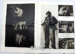 1930 3 USSR on CONSTRUCTION Photomontage AVANT-GARDE Magazine