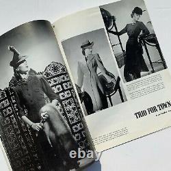 1941 vintage Vogue 40s wartime fashion magazine Lee Miller Cecil Beaton WW2