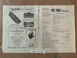 1948 April Hot Rod roadster track flathead scta el mirage indy bonneville