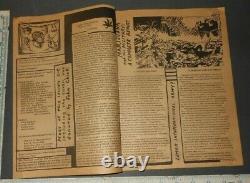 1968 Vol 1 #1 The Marijuana Review Ed Sanders The Fugs Allen Ginsberg