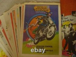 1973. The Living Daylights. News Paper. Richard NEVILLE OZ Magazine. Walsh. RARE SET