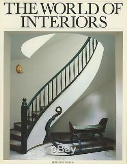 1993 World of Interiors Magazine Lot Design Decor Art Home Garden Architecture