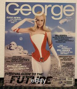 1995-2001 GEORGE MAGAZINE (Lot of 57) Complete Run