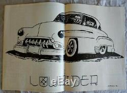 1st Issue LOWRIDER MAGAZINE January 1977 Reprint