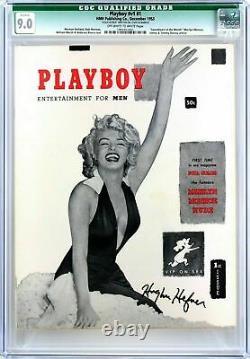 20 Cgc Playboysbegins With Cgc 9.0 Hefner-signed Original #1 Playboyjsa Loa