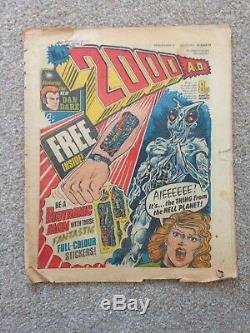 2000AD Prog 2 Feat Judge Dredd Comic Magazine