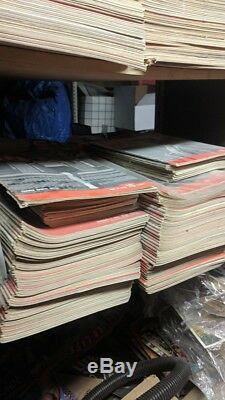 36,000 HUGE MAGAZINE COLLECTION CLOSING STORE DEALER RARE 1900s-1980s BEST LOT