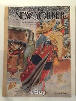 6 ALL JD Salinger UNCIRCULATED NEW YORKER MAGAZINES A Perfect Day for Bananafish