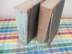 (7) Vintage Harper's New Monthly Magazine Compilation Books 1860 1865