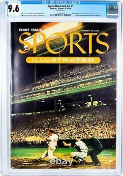 9.6 CGC 1954 Sports Illustrated First Edition With Cards, Cover & COA