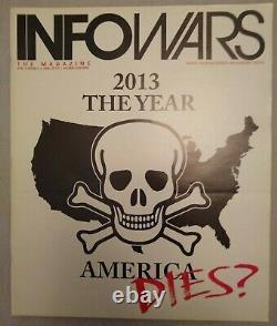ALEX JONES INFOWARS MAGAZINE 1st 13 Issues Complete Rare Trump Rogan Conspiracy