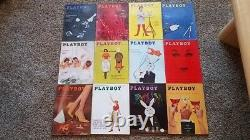 ALL PLAYBOY MAGAZINES FROM 1953 2014, NICE CONDITION, 724 mags