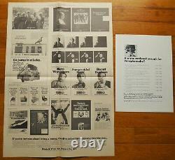 ANDY WARHOL ASPEN MAGAZINE VOL 1, No. 3 FAB ISSUE (December 1966) FINE COPY