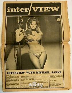 ANDY WARHOL'S INTERVIEW Magazine Vol. 1 No. 1 First Issue Collector's Edition