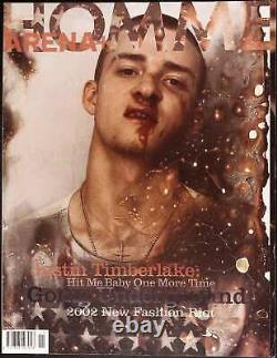 ARENA HOMME PLUS #16 Rare Removed 2001 JUSTIN TIMBERLAKE Cover STEVEN KLEIN excl