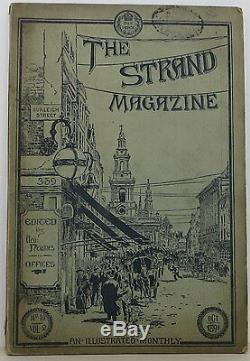 ARTHUR CONAN DOYLE The Boscombe Valley Mystery in Strand Magazine FIRST EDITION