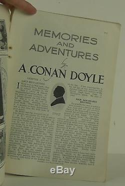 ARTHUR CONAN DOYLE The Story of My Life FIRST EDITION STRAND MAGAZINE