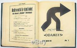 AVANT-GARDE Covers PEET AREN Magazine ODAMEES 1919 Annual Subscription ESTONIA