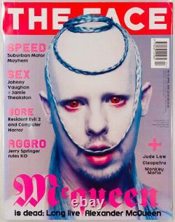Alexander McQueen CARINE ROITFELD Eva Herzigova STEVEN KLEIN The Face 1998 April