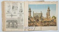 Antique 1858 THE ILLUSTRATED LONDON NEWS MAGAZINES BOUND January thru June