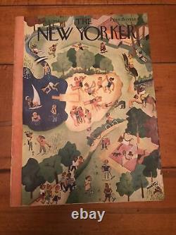 August 31, 1946 New Yorker Magazine HIROSHIMA JOHN HERSEY