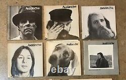 Avalanche Magazine Lot of 6 Issues (1970-73) VERY RARE