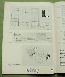 BAUHAUS III-1 1929 Schlemmer Klee Stam Brandt Gabo rare avant-garde magazine