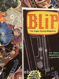 BLIP #1 Video Game Magazine 1ST APP SUPER MARIO / 1ST APP DONKEY KONG 1983