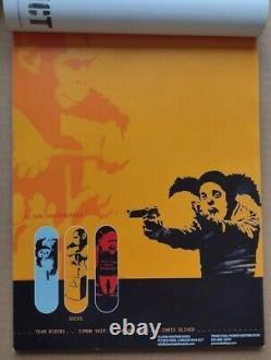 Banksy Lodown magazine 2001 feat. Clown Skateboards. Bizarre, Adjusters, Flaunt