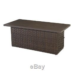 Better Homes & Gardens Harbor City Patio Fire Pit Dining Table