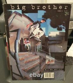 Big brother magazine Number 8 1993 Spike Jonze strangelove skateboard rare blind
