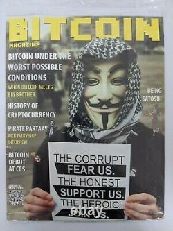 Bitcoin Magazine Issue #1 (MINT CONDITION, NEVER TOUCHED BY HUMAN HANDS)