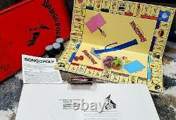 Bongopoly Extremely Rare Vintage Board Game High Times Marijuana Cannabis