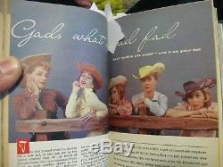 Bound TV Guide 1960 July-Sept W. Texas Fall Preview Andy Griffith John F Kennedy