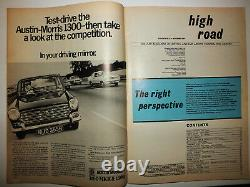 British Leyland HIGH ROAD MAGAZINE every issue EDITORS OWN 1969 -1970 BL Cars