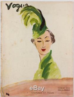 CARL ERICKSON Rene Bouet-Willaumz HORST P Schiaparelli PARIS VOGUE February 1935