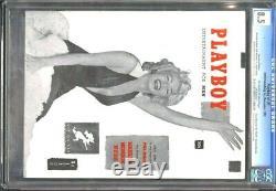 CGC Universal Grade 8.5 #1 PLAYBOY (December 1953) Marilyn Monroe On & In