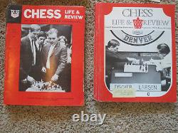 CHESS LIFE and CHESS LIFE & REVIEW lot of 110 vintage magazines 1963 1980