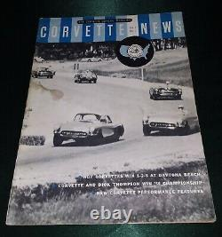 CORVETTE NEWS 1957 Vol 1 No 1 VG Condition First Issue pls read descriptio