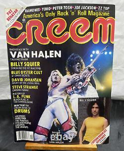 CREEM MAGAZINE Lot of 16 Vintage Issues From 70s & 80s Rock Many Artists Bands