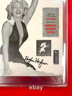 Cgc 9.4 Original 1953 #1 Playboyhighest Graded Hefner-signed With White Pages